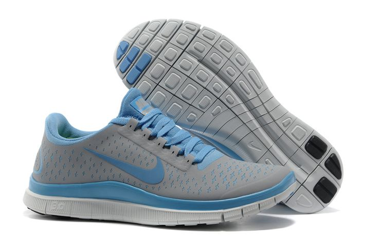Nike Free 3.0 - Lysegrå/Lyseblå http://www.sneakerno.com/products/Nike-Free-3.0-V4-n136_p1.html