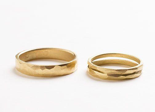 Trouwringen in fairtrade goud voor Pauline & Jonas