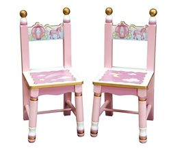 Guidecraft Princess Extra Chairs Set Of 2 G86303