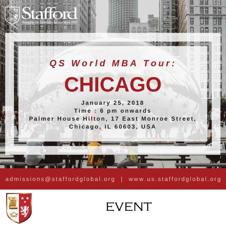 | QS World MBA Tour: Chicago | Hello Chicago! Get ready to learn and save. With online learning, seminars and workshops are delivered online asynchronously so there is no need to travel or take a career break. You can now earn an MBA online degree from The University of Aberdeen Online, a prestigious institution that provides world class education and ranked among some of the top institutions in the world. Meet our admission staff to know more…