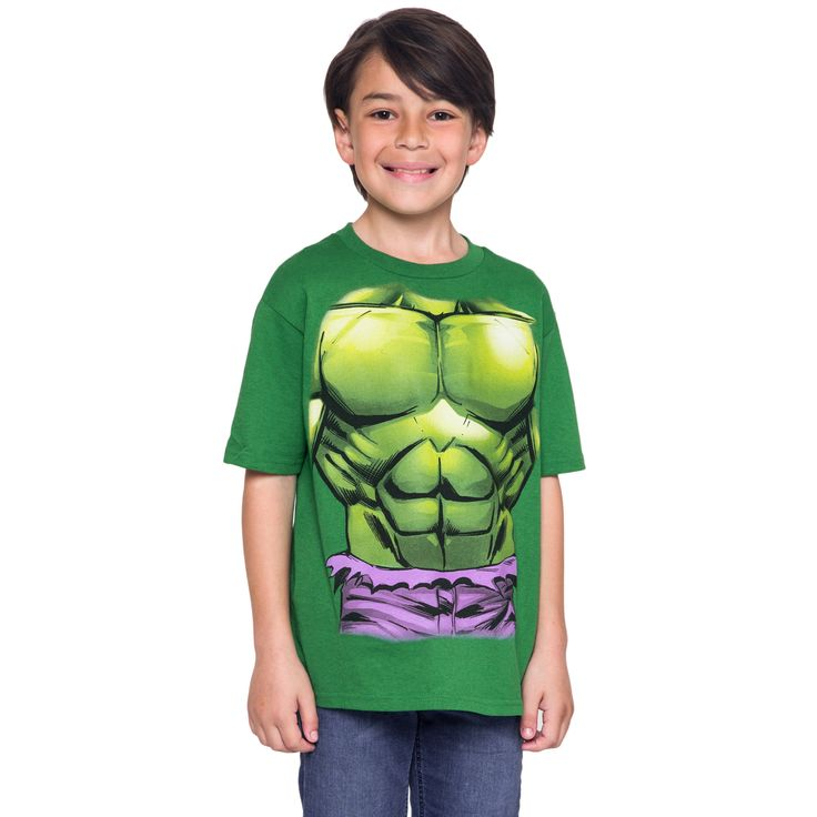 Youth Boys Marvel's Avengers The Hulk Costume T-Shirt