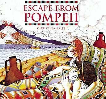 Planning and Resources for Y3/4 Literacy unit on 'Escape from Pompeii'