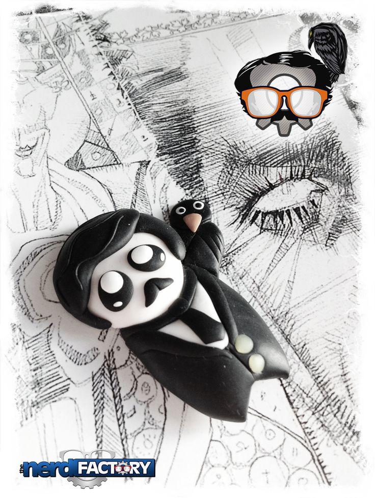 Edgar Allan Poe fimo Handmade!