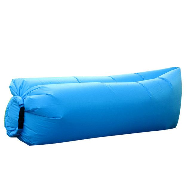Beach Portable Outdoor Furniture Air Bed Inflatable Hammock Sleeping Bag Camping Air Sofa Nylon Polyester Lazy Bag