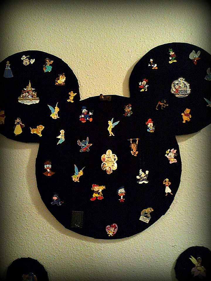 Diy Disney Pin Board Need Cardboard Fabric Double Sided Tape