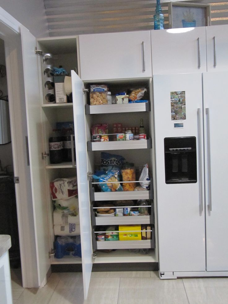 Ikea ~ pantry space galore!