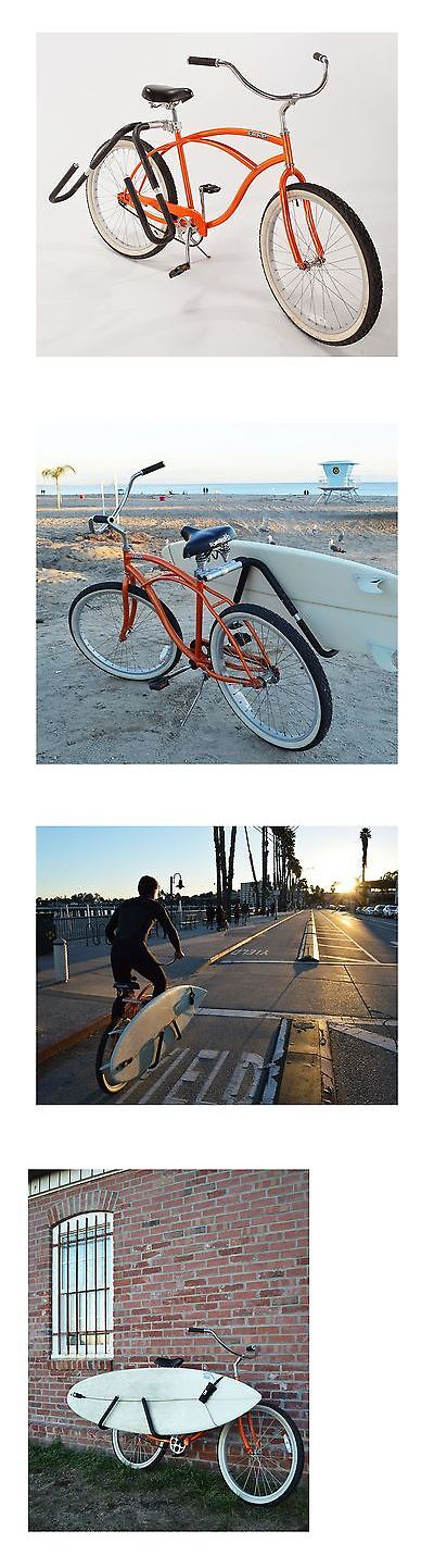 Car Racks 114254: Moved By Bikes Mbb Shortboard Surfboard Bicycle Rack. -> BUY IT NOW ONLY: $114.77 on eBay!