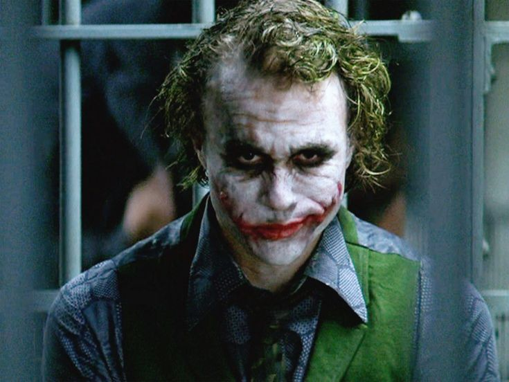 Heath #Ledger as #Joker in Batman the Dark Knight Trilogy! Description from pinterest.com. I searched for this on bing.com/images
