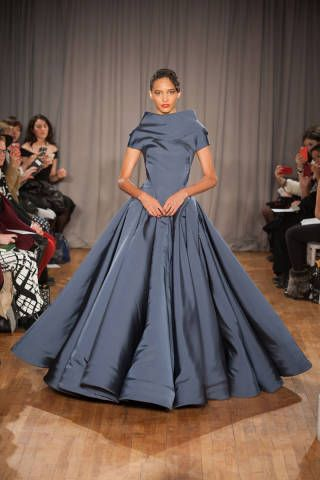 Best Gowns New York Runways - Best Fashion Week Gowns - ELLE - The most outrageously gorgeous gowns from NYFW 2014: Zac Posen.