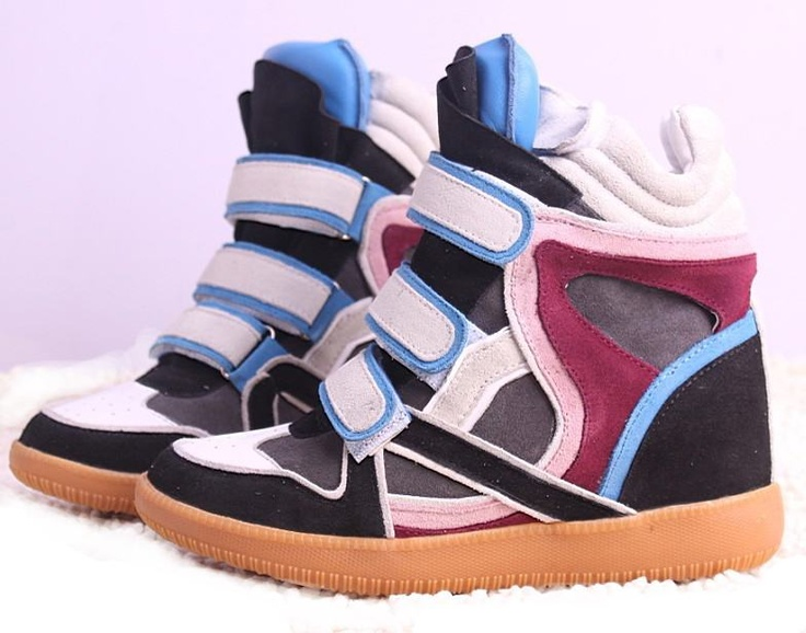 Isabel Marant Bekket High-top Suede Blue Tongue Sneakers you desire to have one