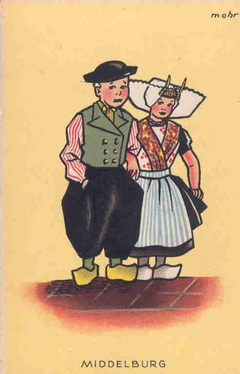 Middelburg♥postcard