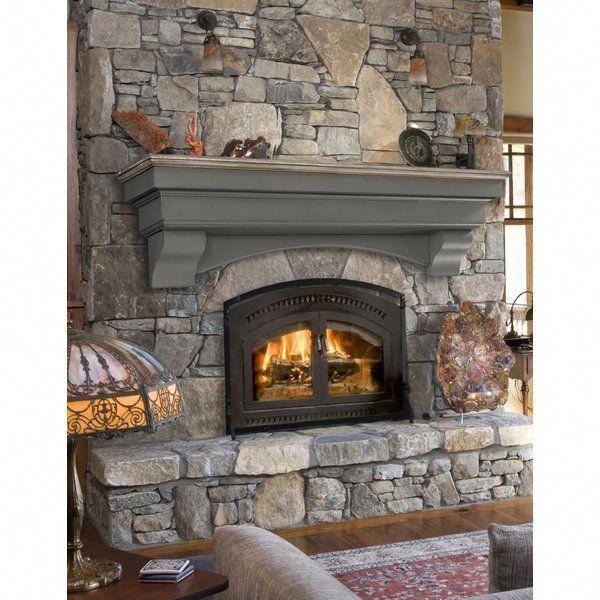 Hadley Fireplace Shelf Mantel Chimneydecorlivingroom Joes