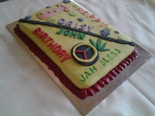 Birthday cake with a difference