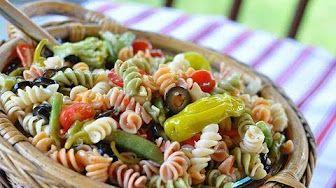 pasta salad - YouTube