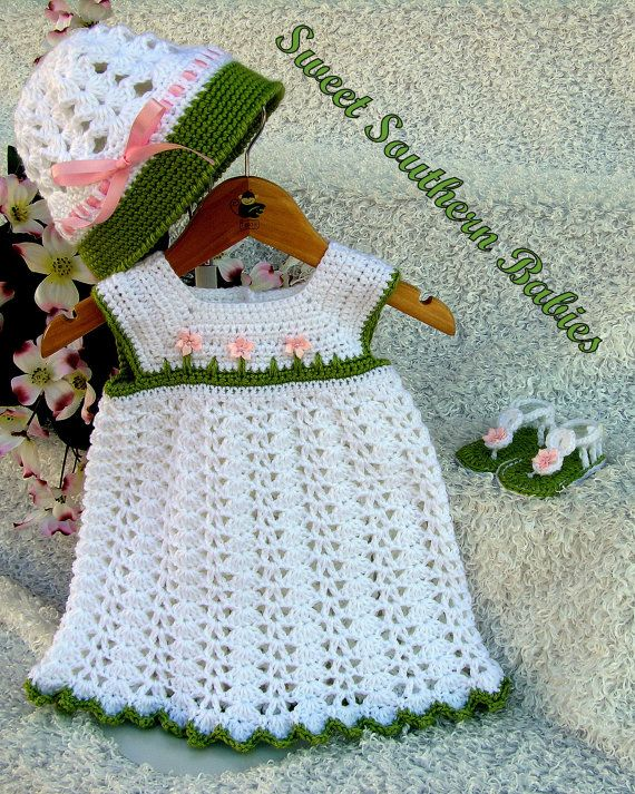 Baby Girls Spring Dress by SweetSouthernBabies on Etsy, $62.50