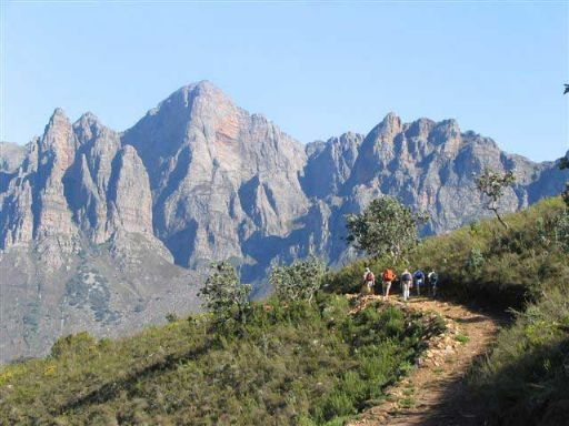 Beautiful hiking and MTB trails in Tulbagh, Western cape