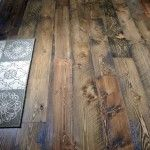 rough sawn douglas fir flooring