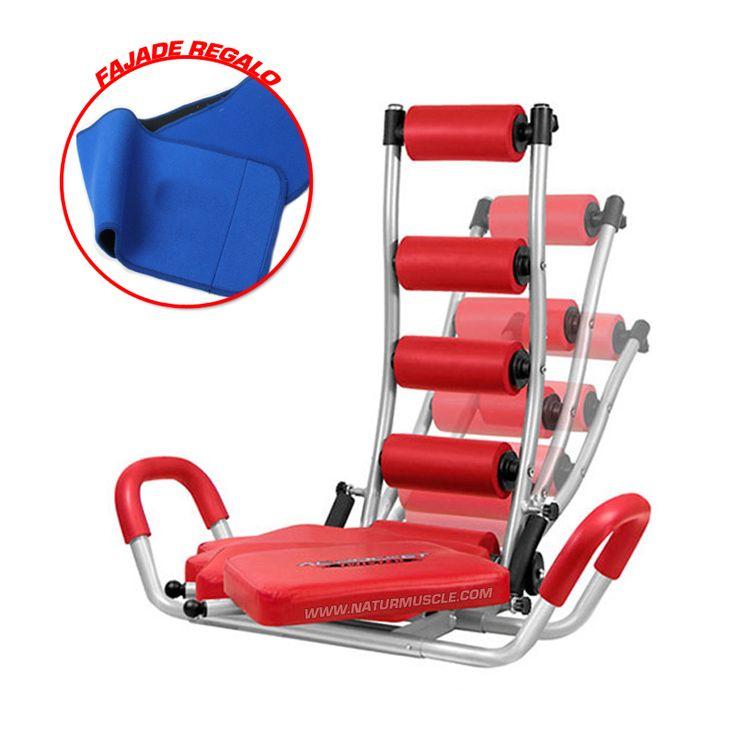 Maquina de Abdominales Rafa Martin podras ejercitar y desarrollar tus abdominales. http://www.naturmuscle.com/maquinas-fitness/552-maquina-de-abdominales-cuerpo-10.html?search_query=faja&results=4