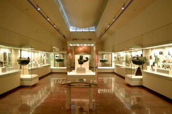 Olympia Museum inside