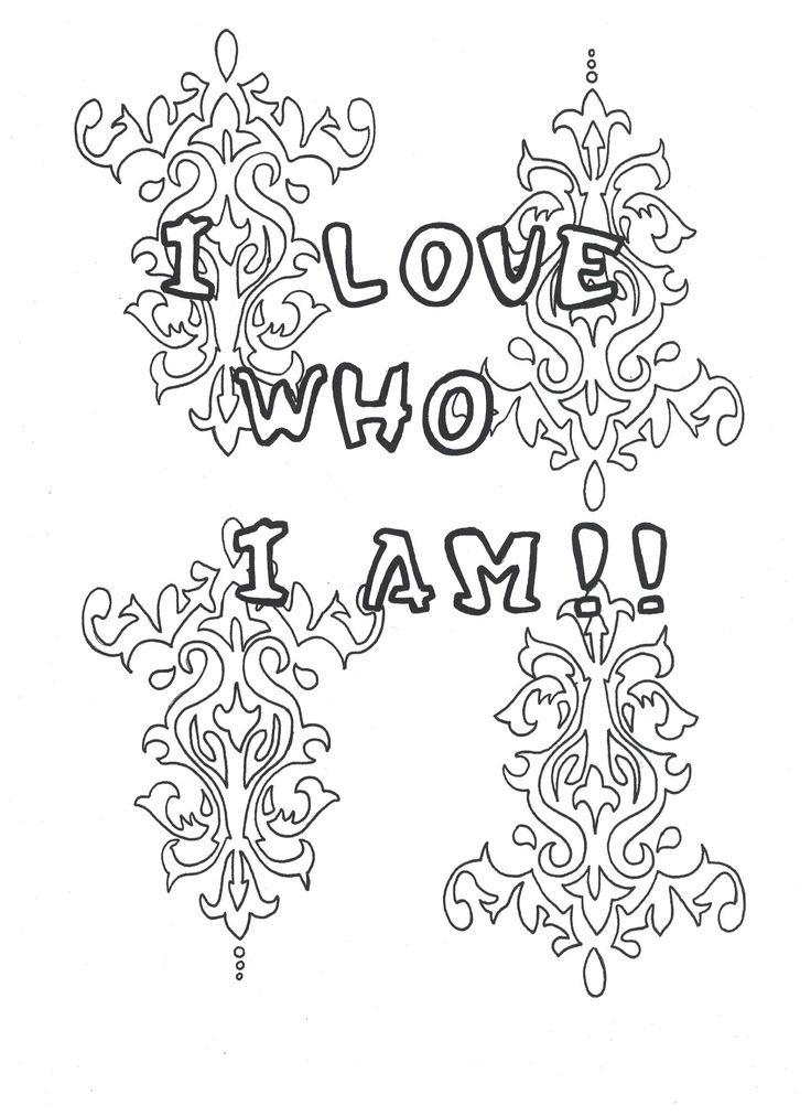 38 Best Self Love Coloring Pages Images On Pinterest