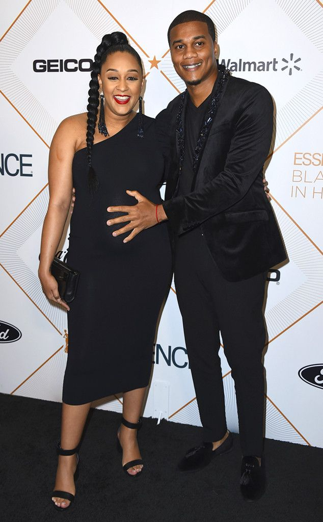 Tia Mowry and Cory Hardrict from Oscars 2018: Party Pics