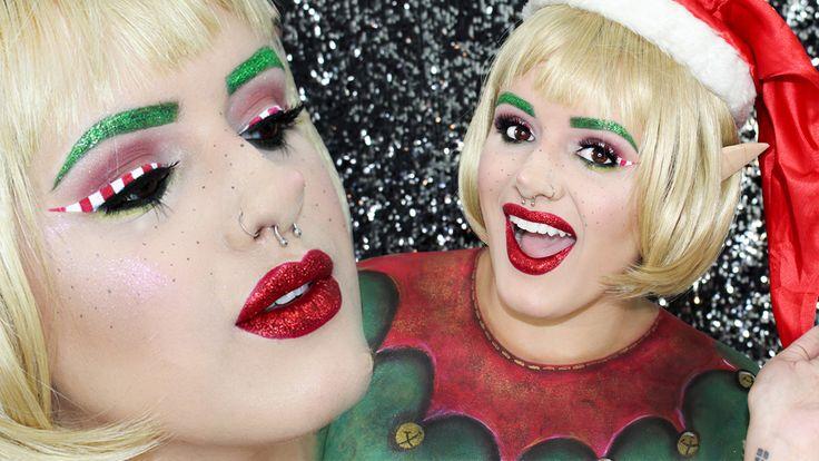 Amazing Elf Makeup! Go check my Youtube Channel to learn how to do it! Maquiagem de Elfo! Entre no canal do Youtube para aprender a fazer!