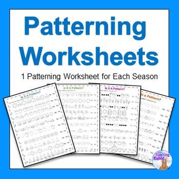 216 best Pattern Activities images on Pinterest   Math patterns ...