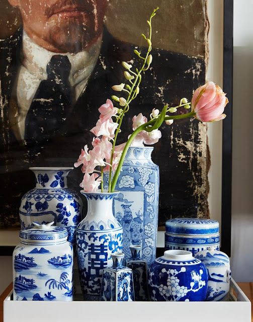 Chinoiserie Trends 2017 - Blue and White Chinese Porcelain