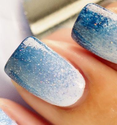Ombre nail art easily // Színátmenetes körmök ( manikűr ) szivaccsal egyszerűen //  Mindy -  creative craft ideas // #manikűr #köröm #manicure #nailart #ombrenails