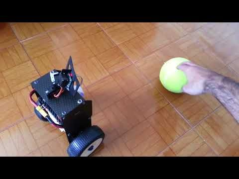 RS4 - Self balancing Raspberry Pi OpenCV image processing Robot - YouTube