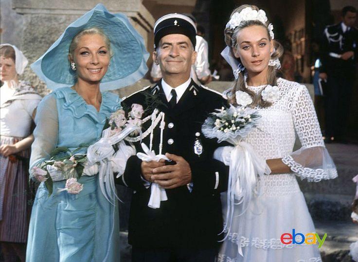 Photo LE Gendarme SE Marie Louis DE Funes Claude Gensac ET Genevieve Grad | eBay                                                                                                                                                                                 Plus