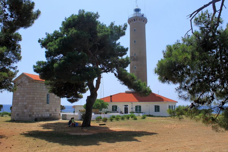 Beautiful holiday lighthouse by the croatian coast #croatia #atraveo