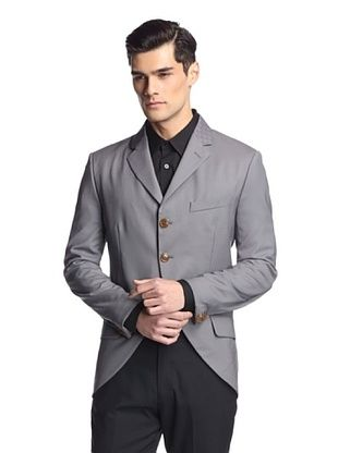 -30,100% OFF Vivienne Westwood Men's 3-Button Blazer (Grey)