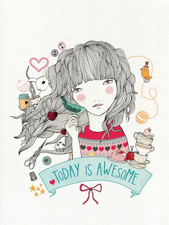 Print Awesome / ladydesidia