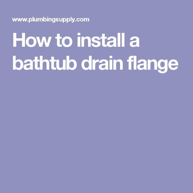 Best 25 Bathtub Drain Ideas On Pinterest