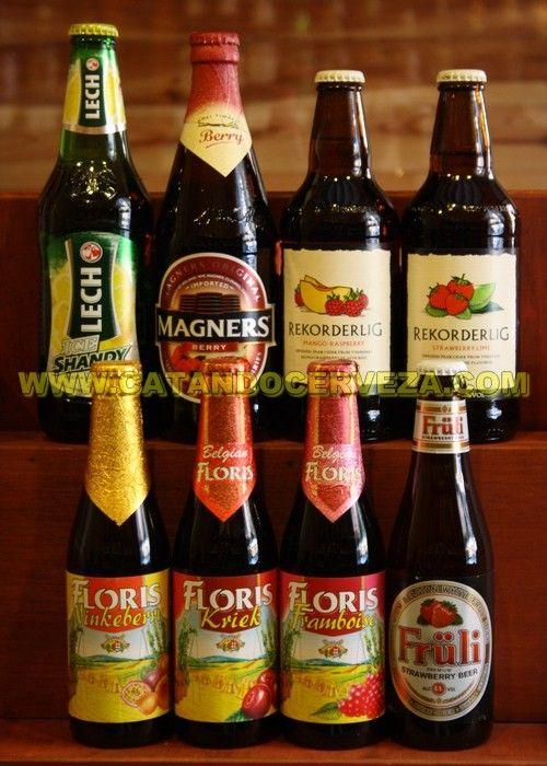 Pack #cerveza afrutada y sidra de importación.