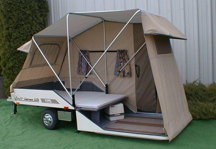 Tent camper trailer