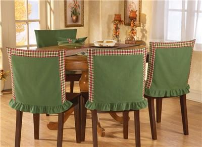 hoilday kitchen chair covers | PC Set Cute Country Style Dining or Kitchen Chair Covers New | eBay