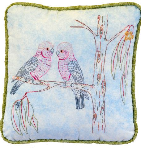 $7   The Galahs are number 7 in our Australian Bird Series.  Galahs are found throughout many areas of Australia  Suitable for a beginner through to experienced.
