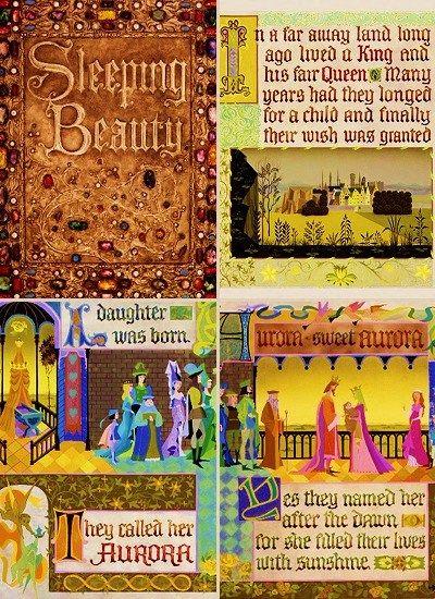 The Disney Fairy Tale of Sleeping Beauty