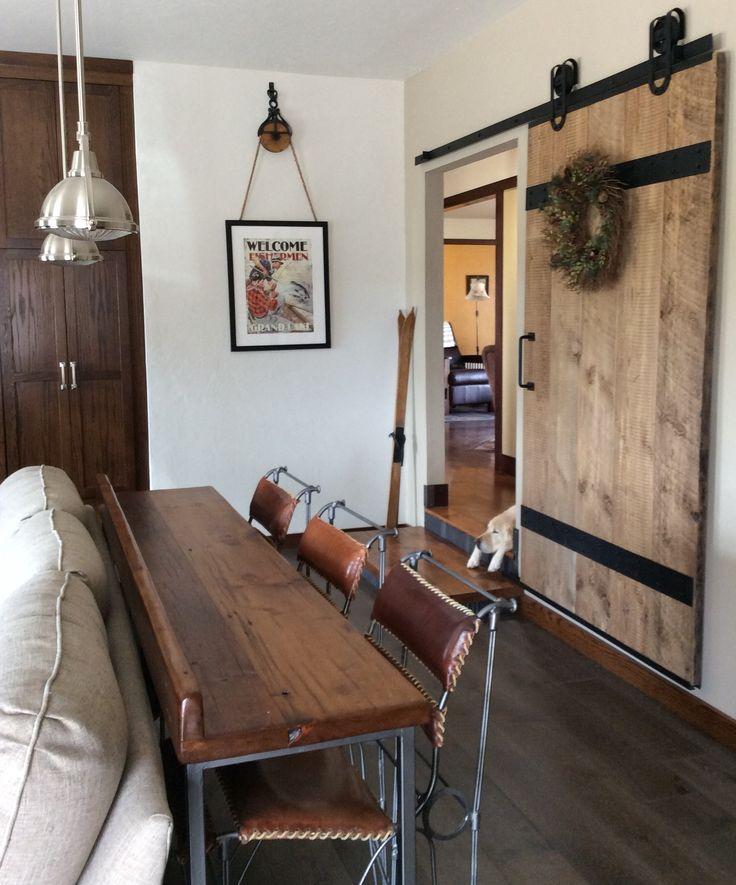 17 Best Ideas About Barn Door Tables On Pinterest Coffee