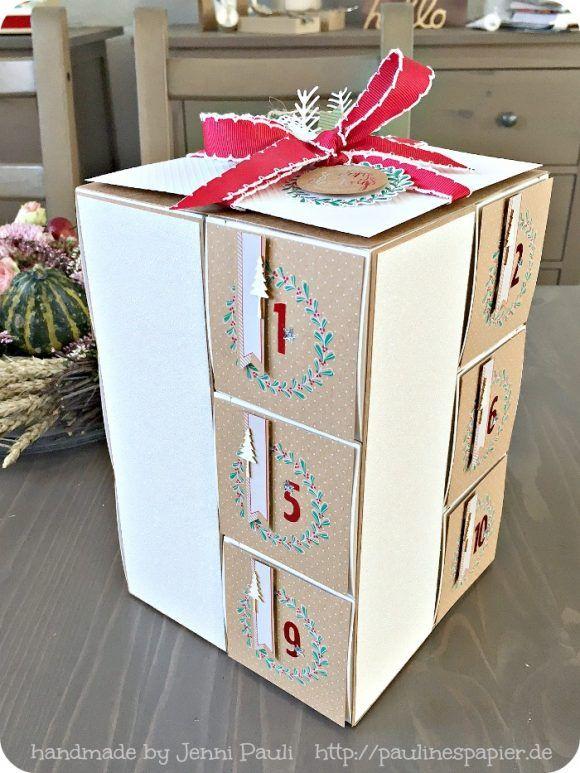 12 days until christmas calendar stampinup Jenni Pauli