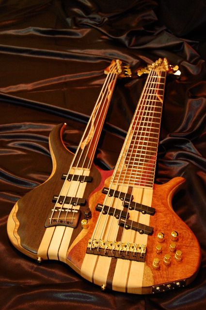 Combat Guitars, 4-string - 8-string double neck Bass guitar