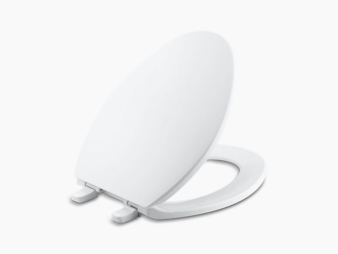 Brevia Elongated Toilet Seat with Quick-Release | K-4774 | KOHLER