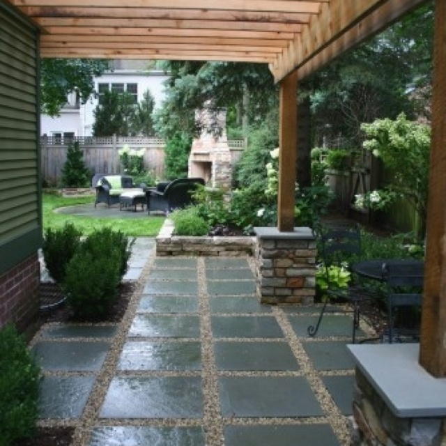 Outside Patio Stone: So Cool Under The Deck..
