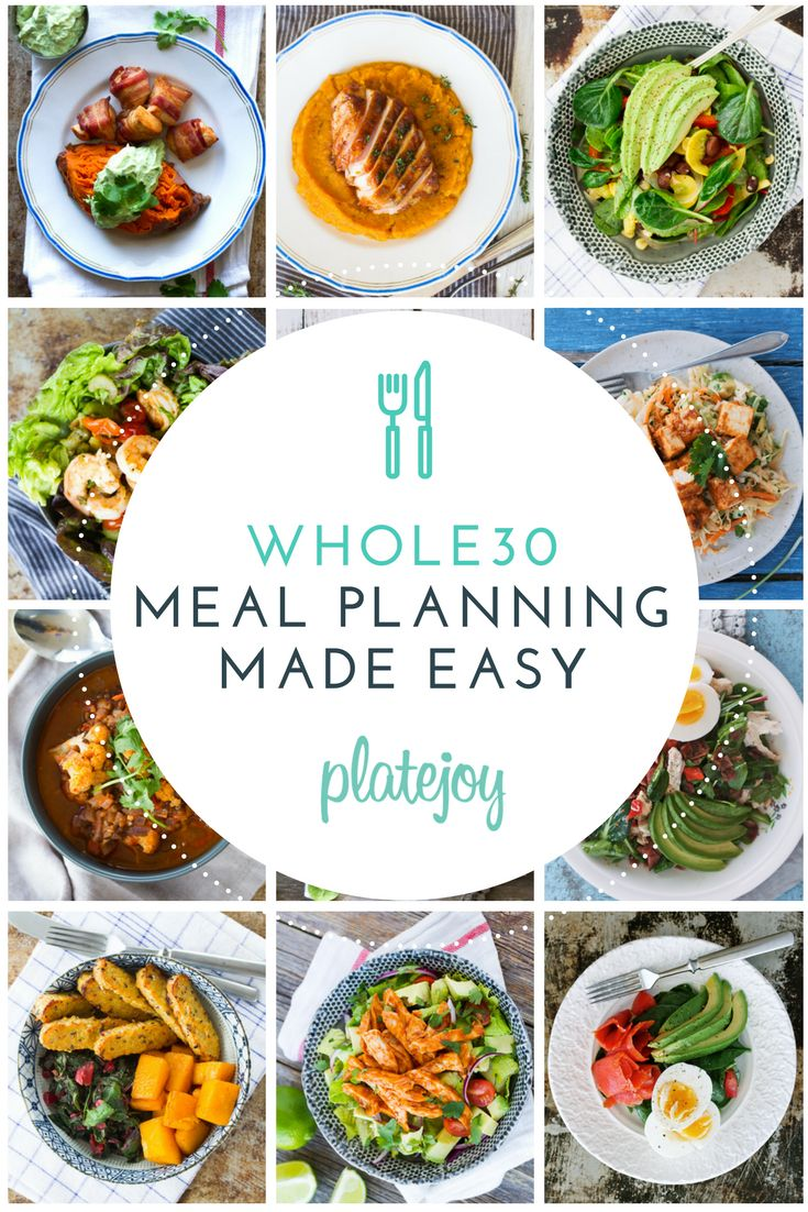 Whole30 Cooking Made Easy: Get Simple Recipes & Shopping Lists Sent Straight to your Inbox!