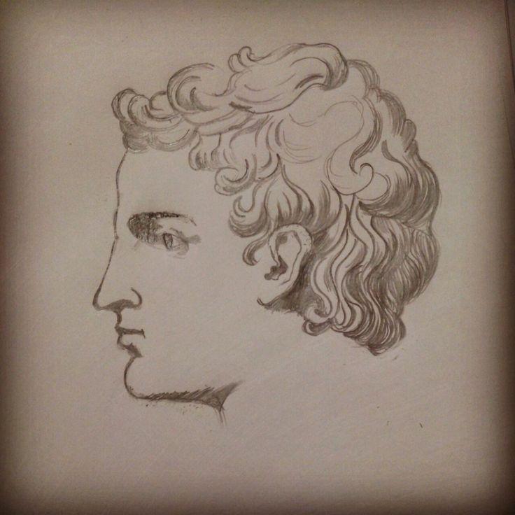 Задание. Чтобы стать художником нужно рисовать мужчин с кучерявыми волосами и прямым носом.