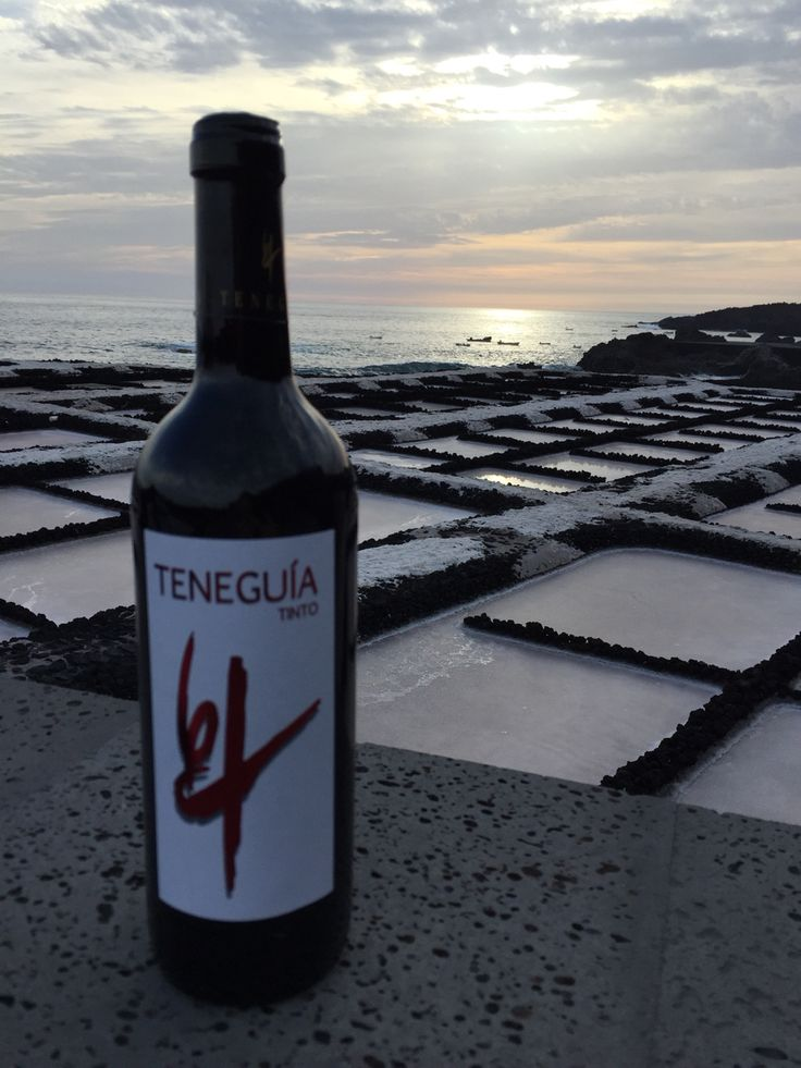 Vino de Fuencaliente Salinas wine and salt La Palma