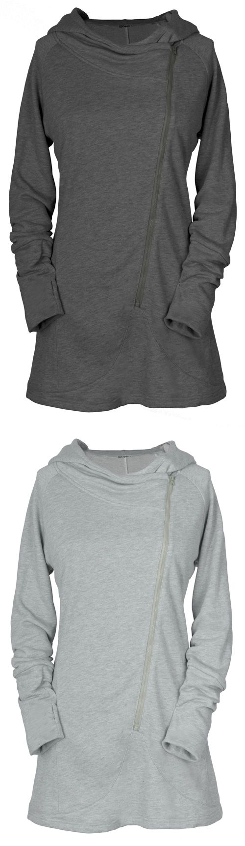 Enjoy this sassy sweatshirt with free shipping&easy return! This zipper closure piece is detailed with hoodie design&long sleeve! Warm&chic at Cupshe.com