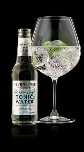 Fever-Tree Mediterranean Tonic Water, Flavoured Tonic Waters, Best Tonic, Vodka & Tonic, Gin & Tonic